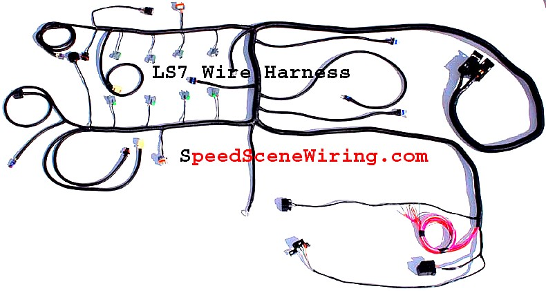 LS7 harness LS7 wiring LS7 58X 2009 1 ls3 ecm wire harness diagram wiring diagrams for diy car repairs TH400 Wiring Harness Diagram at panicattacktreatment.co