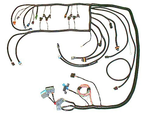 LT1_94 97 lt1 wire harness & tuning how to make a stand alone lt1 wiring harness at crackthecode.co
