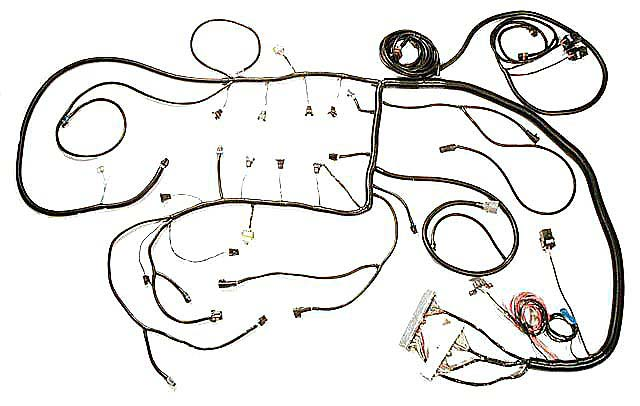 LS3 Harness 2008-12 E38 ECM LS3 Wiring , LS3 Harness, L99 Engine L99